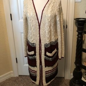 Long Sweater light weight size medium